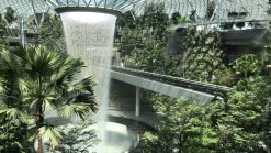 Don't miss the opportunity to get up close and personal with the majestic Rain Vortex and lush Forest Valley when Jewel Changi Airport opens.