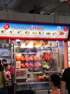 Hawker Chan hat einen Stern