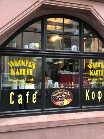Da kauft der Frankfurter seinen Kaffee