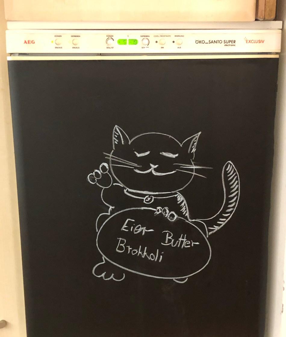 DIY -Kühlschranktafel