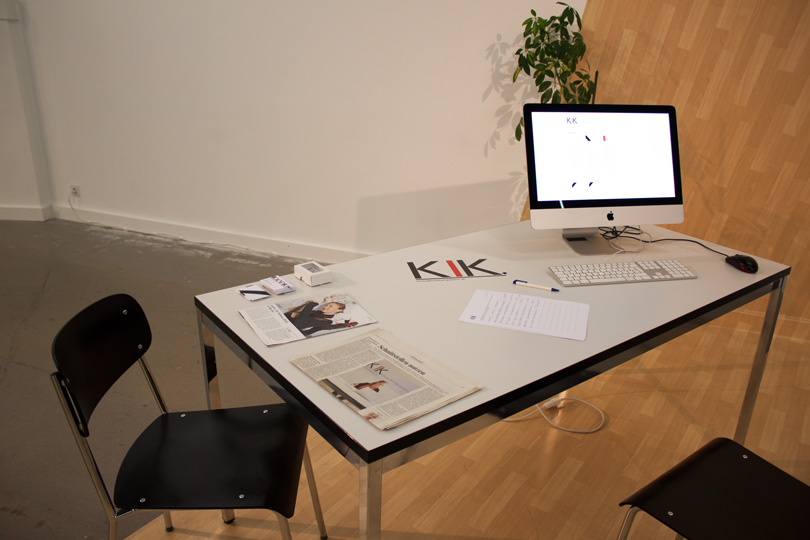 KIK Infomaterial Kunsthalle Luzern