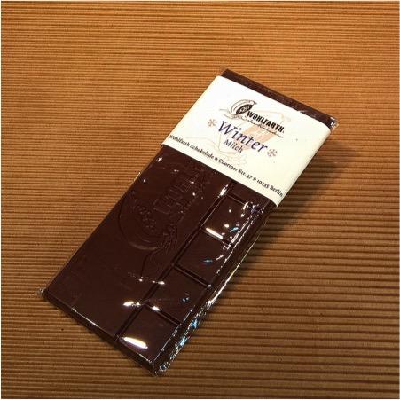 Zarte Winterschokolade von Wohlfarth Schokolade © Wohlfarth Schokolade Berlin