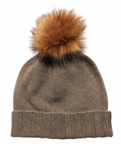 """Mütze """"Philippa"""" mit Bommel """"Fuzzy2"""" von Eagle Products © Eagle Products Textil GmbH"""
