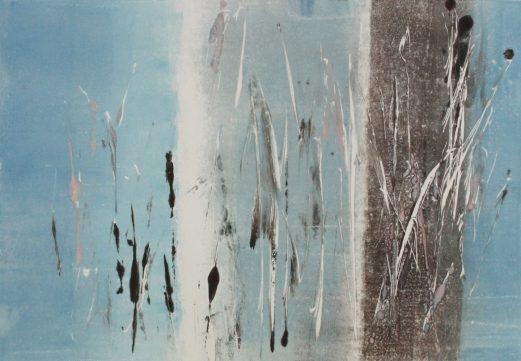 ICELIGHT 1, 2016 Monotypie 21 x 30 cm