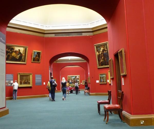 In der Nationalgalerie