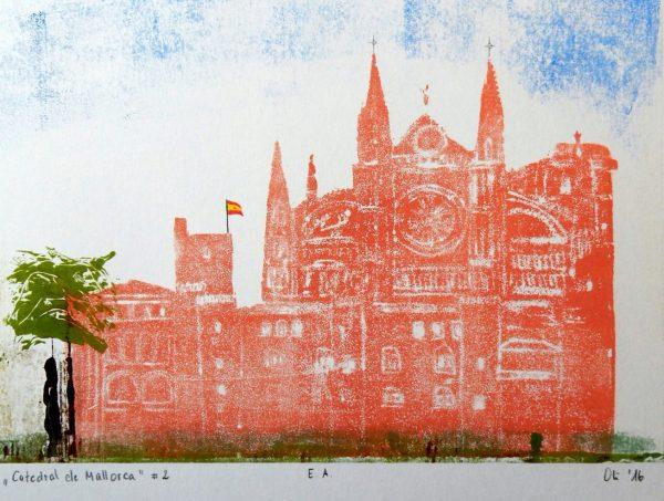 """Teilnehmerarbeit von Oliver H. """"Cathedrale von Palma de Mallorca"""""""