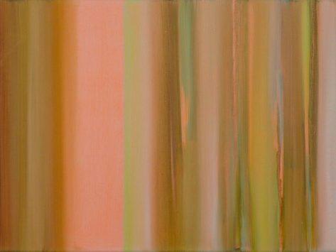 VERTIKAL 26, 2016 Öl auf Leinwand 30 x 40 cm