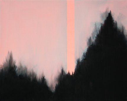 VERTIKAL 16, 2016 Öl auf Leinwand 40 x 50 cm