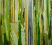 VERTIKAL 30, 2016 Öl auf Leinwand 130 x 150 cm
