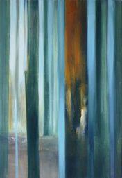 ZWISCHENRAUM 1, 2017 Öl auf Leinwand 85 x 55 cm