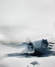 BOHUSLÄN 2, 2013 acryl on paper 24 x 30 cm