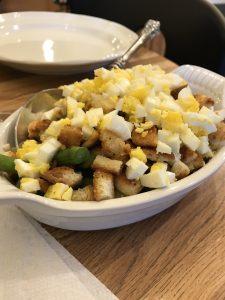 asparagus-croutons-egg-salad