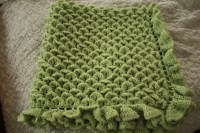 Free Crochet Crocodile Baby Blanket Pattern ~ Dancox for
