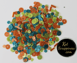 Sea Coral Sequin Mix