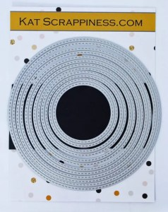 Kat Scrappiness Double Stitched Circle Dies