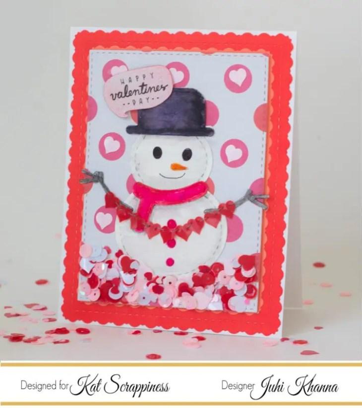 Kat Scrappiness Snowman Die