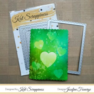 Kat Scrappines Scalloped Frame Die