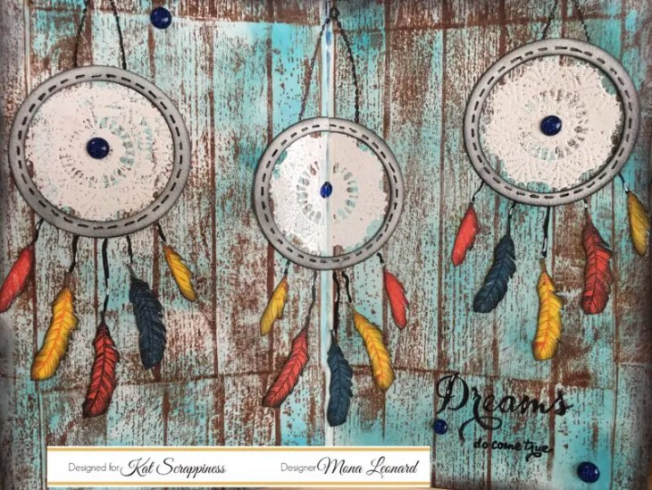 Dream Catcher Art Journal Page