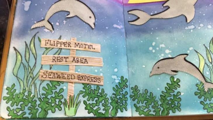 Flipper Paradise | Kat Scrappiness Blog