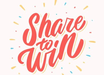 Share to Win!
