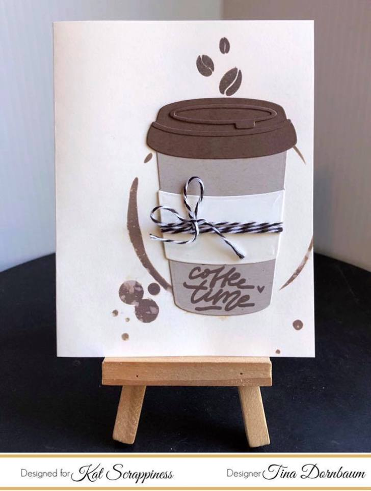 Tina's Project for Coffee Blog Hop