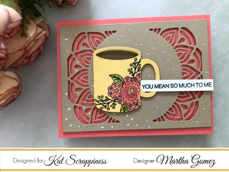 Coffee and Mom by Martha Lucia