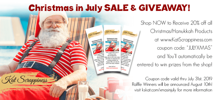Christmas in July Sale & Giveaway