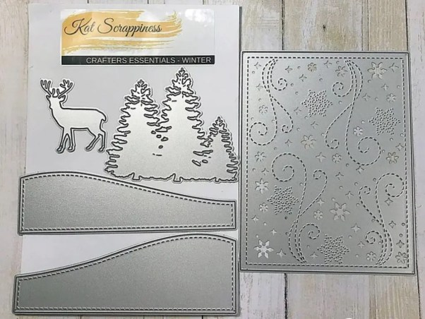 Kat Scrappiness crafters essentials winter die set