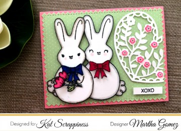 Spring Card by Martha Lucia