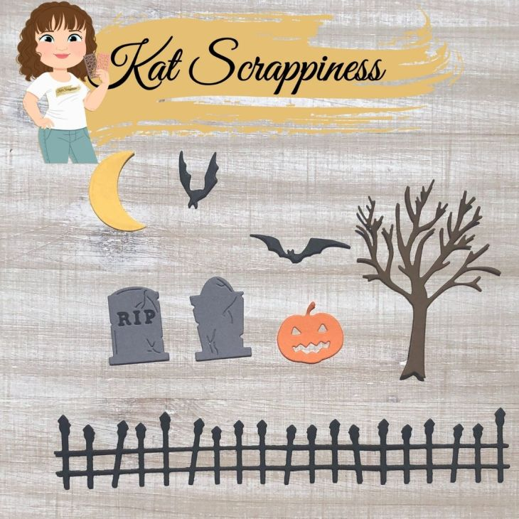 Crafters Essentials Halloween Dies