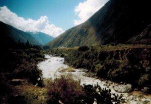 Aguas calient river