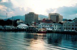 Taz Hobart waterfront