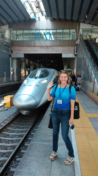 China Bullet Train, Beijing, China