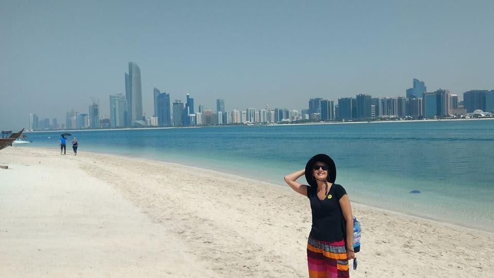 The Abu Dhabi Skyline, UAE