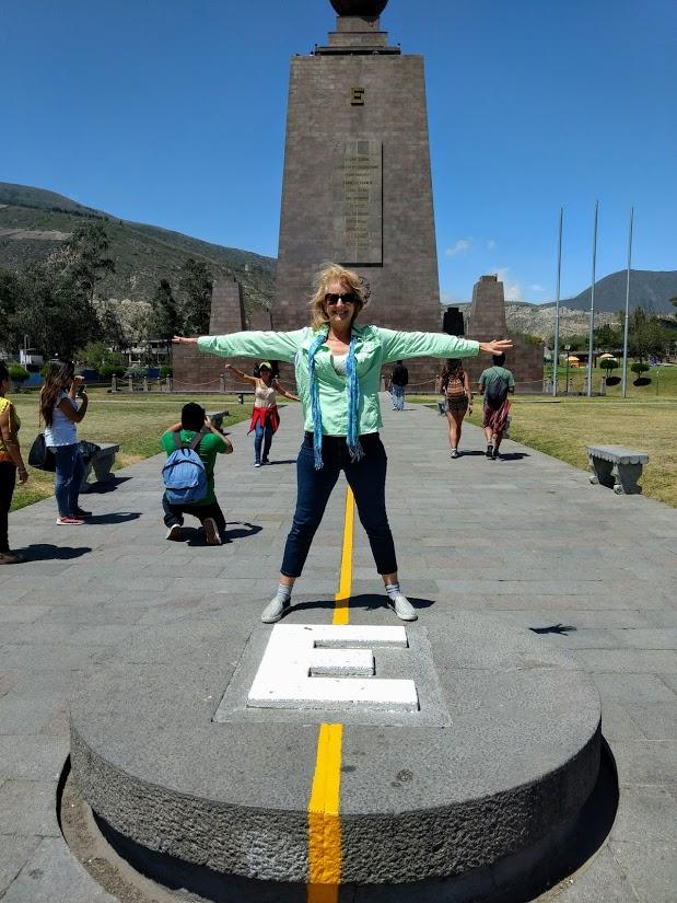 Quito, Ecuador: Standing on the Equator: