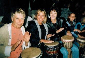 Drumming in Fish Hoek