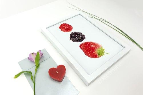 The Berries in Frame by Kat Skinner