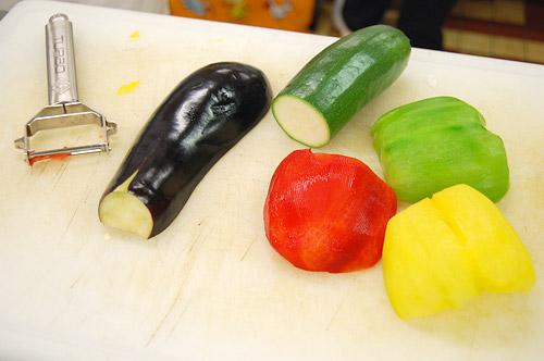 Niçoise de légumes