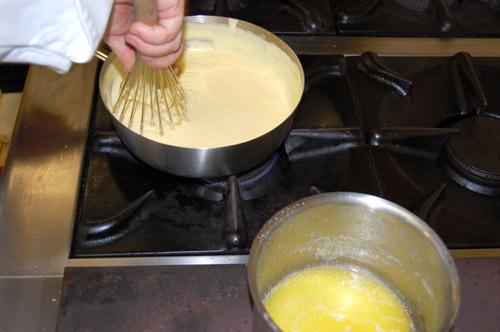 Préparation de la mousseline