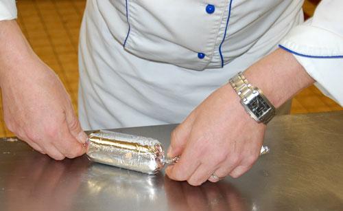 Roulé de la paupiette sole saumon