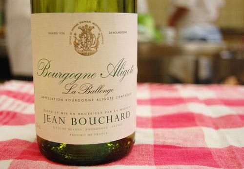 Vin Bourgogne Aligote