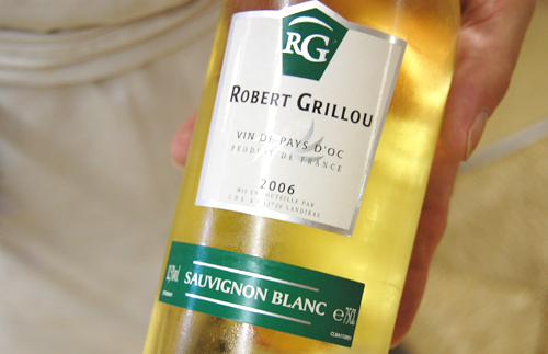 Vin blanc Robert Grillou