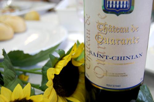 Bouteille de vin - Saint Chinian