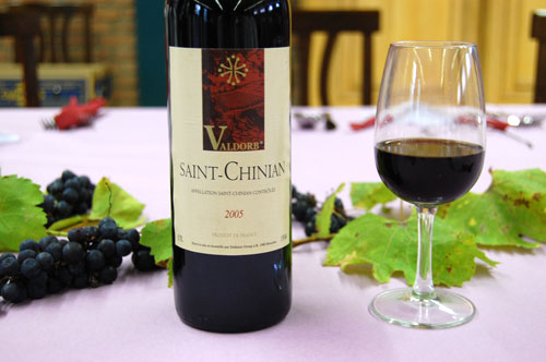 Vin, Saint Chinian