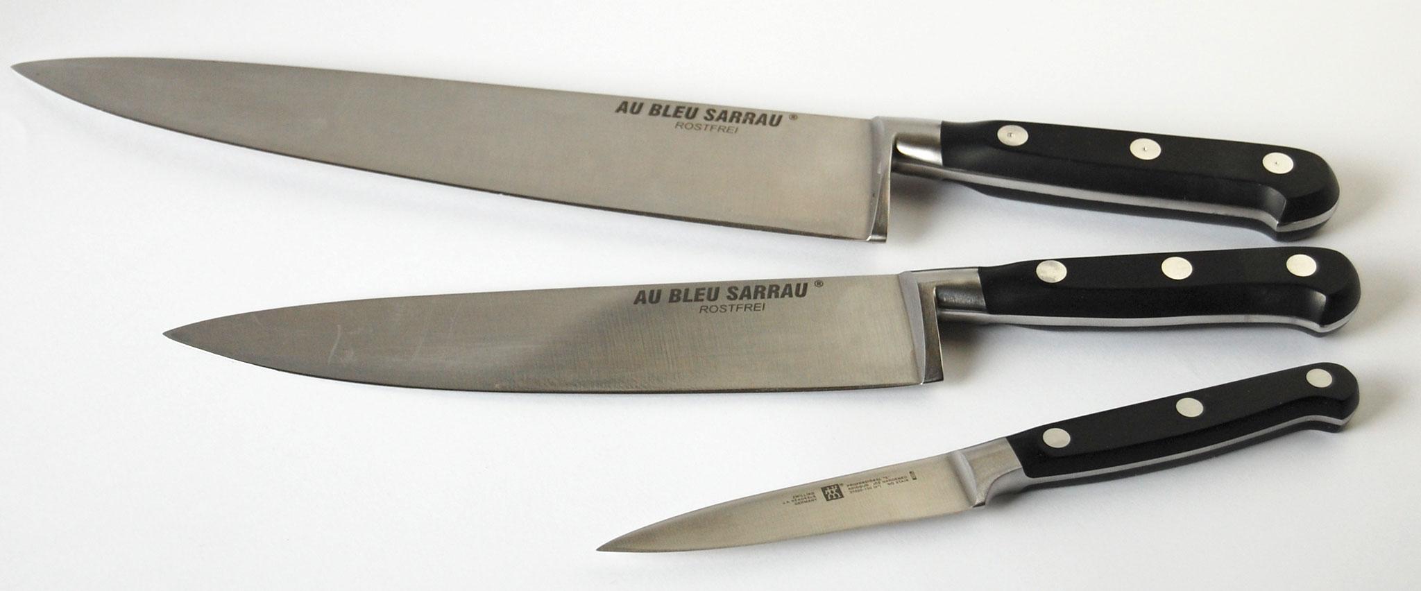 Ustensile mat riel fleur de pois - Trousse de couteaux de cuisine ...
