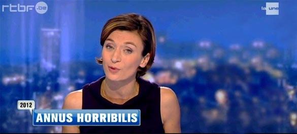2012 annus horribilis