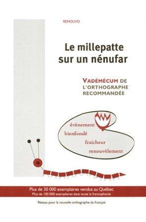 Livre 'Le millepatte sur un nénufar'