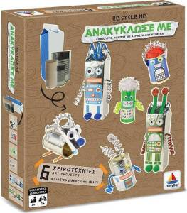 Desyllas Games – Ανακύκλωσέ Με – Ρομπότ DIY 520404