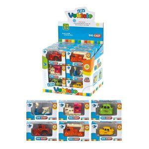 Diakakis – Παιχνίδι STOP & LOOK Οχήματα σε κουτί 10×4,5×5,5cm – 6 σχέδια 658293