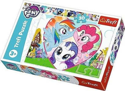 Trefl – Puzzle My Little Ponies Better Together 30 Pcs18241